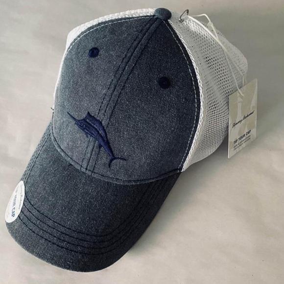 Tommy Bahama Cotton Mesh Trucker Hat Margarita